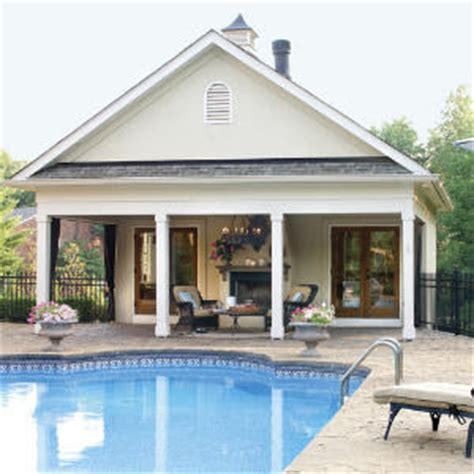 house plans with a pool farmhouse plans pool house plans