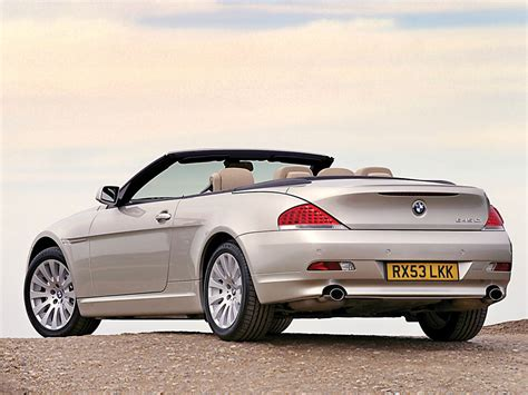 how does cars work 2004 bmw 645 auto manual 2004 bmw 645ci convertible bmw supercars net