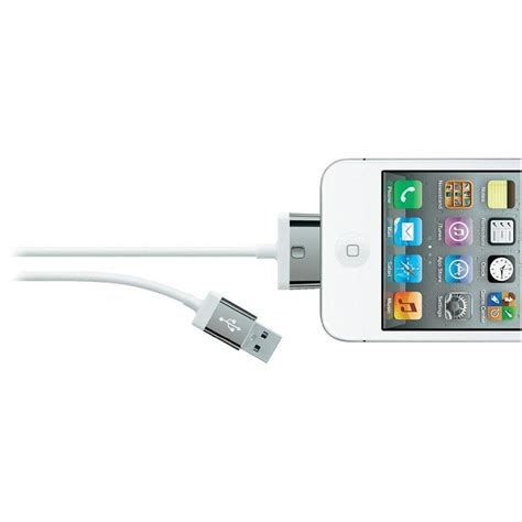 Kabel Data Lightning 30 Pin Iphone 3g 3gs 4g 4gs Original T19 1 belkin usb 30 pin cable iphone 4 4s iphone 3 3gs 3 white