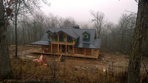custom country homes new log home near yellville ar ozark custom country homes