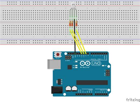 code arduino led rgb integrate arduino with yahoo using temboo dzone iot
