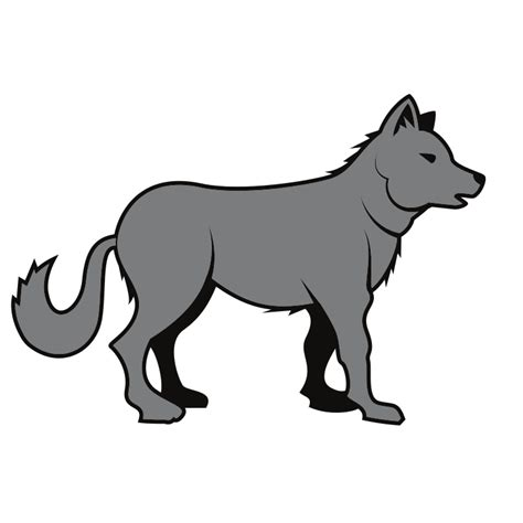 svg image file wolf vector image svg wikimedia commons