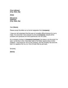Resignation Letter Difficult Decision by Diplomatic Resignation Letter