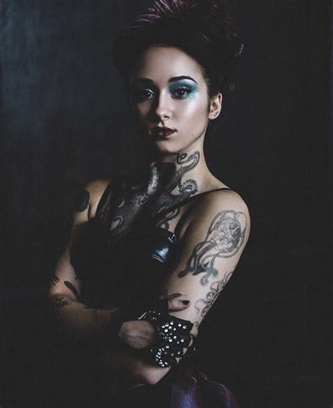 the tattooed lady you cannot be afraid oddity portrayed by
