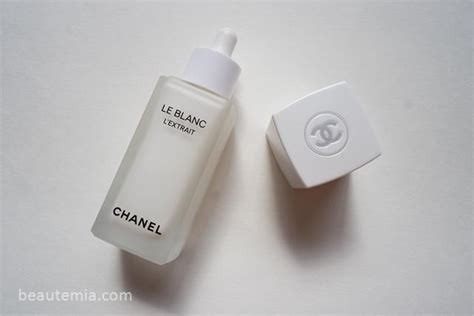 Harga Chanel Le Blanc Serum chanel review gt le blanc l extrait serum intensive youth