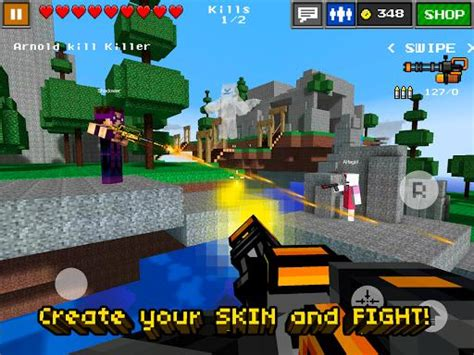 minecraft demo apk free pixel gun 3d minecraft style apk 3 9 free for android apk4fun