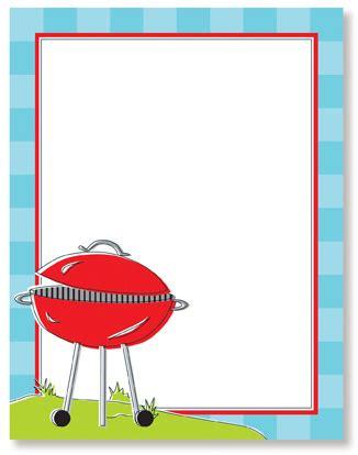 Barbecue clipart border - Pencil and in color barbecue ... Bbq Border Clip Art Free
