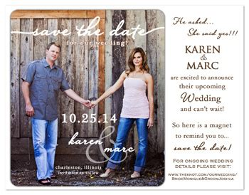 Make Your Own Save The Date Cards Templates by Sle Chic Design Your Own Save The Date Cards Best