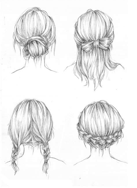 hairstyles art drawing hairstyles by capilair on deviantart