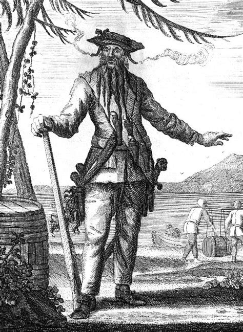 Was Blackbeard Real | blackbeard whose real name was edward teach was a