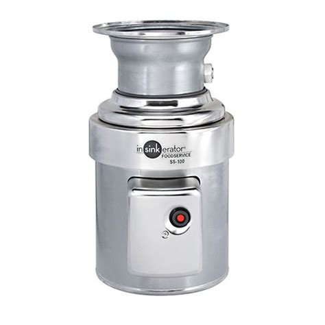 disposal home insinkerator 1 hp commercial garbage disposal ss100 28