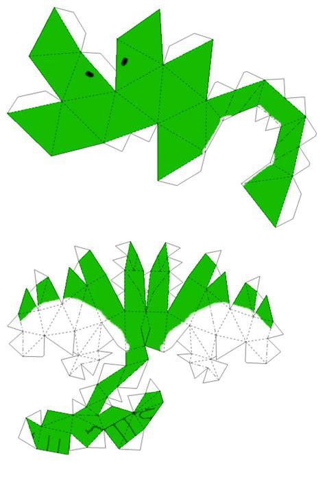 Yoshi Origami - yoshi papercraft page 1 by nin mario64 on deviantart