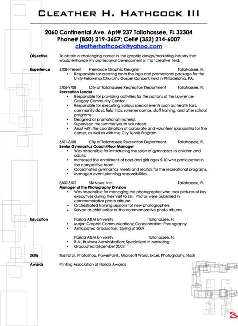 basic resume outline templates sle resume format march 2015