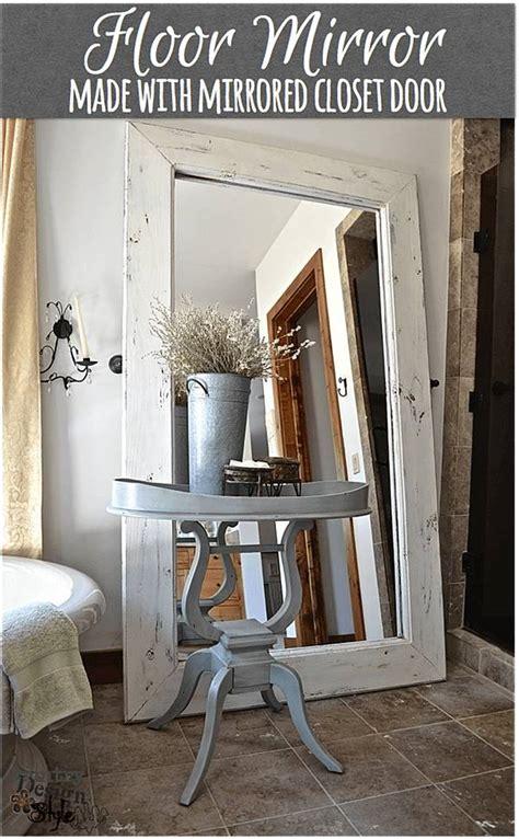 farmhouse mirror ideas  stick  rustic  chic