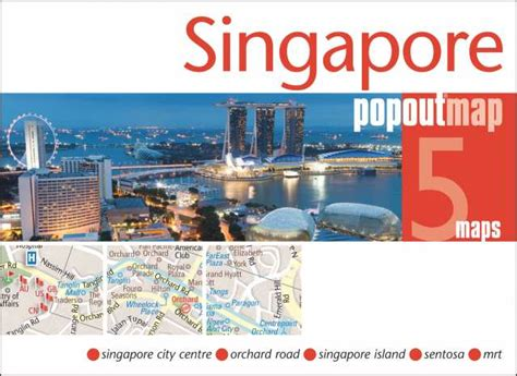 libro florence popout map handy singapore archives popout products