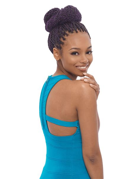 janet collection caribbean hair expression 3x afro twist braid kn