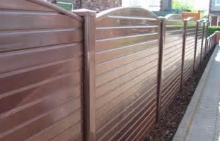 Pvc Trellis Panels Brown Upvc Plastic Garden Fence Panel Ebay