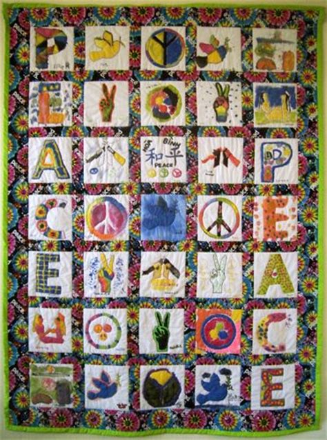 Quilting In Peace by Peace Experiments Yet Another Uu Curriculum Site