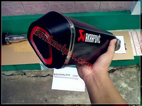 Knalpot Racing Kawasaki 250 Fi Akrapovic Meghapone Slip On knalpot akrapovic 250 harga knalpot motor racing