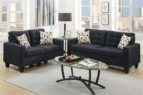 black fabric sofa and loveseat black fabric sofa and loveseat set steal a sofa