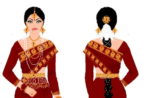Traditional by Southern Indian Traditional Wear By Preettisen On Deviantart