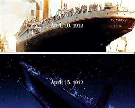 in what year did the titanic sink south korean ship sinks a day after titanic s 102nd