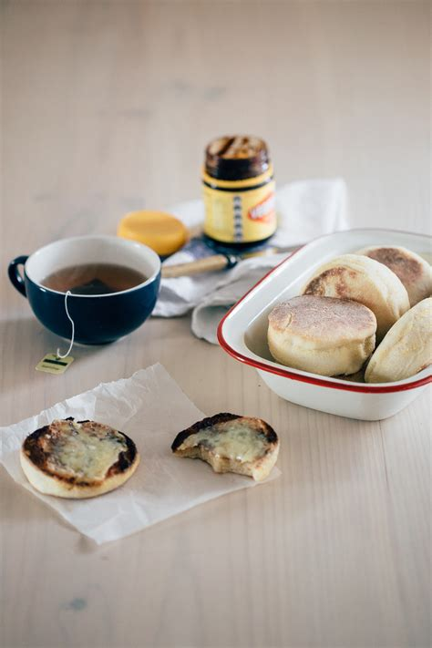 how to make english muffins erin made this