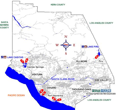 ventura county boat rs map
