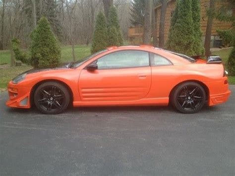 mitsubishi coupe 2000 purchase used 2000 mitsubishi eclipse gt coupe 2 door 3 0l