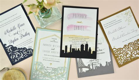 Wedding Card Diy by How To Diy Laser Wedding Invitations With Slide In Cards