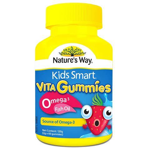 Nature S Way Smart Vita Gummies buy smart vita gummies omega 3 fish 60 gummies by nature s way priceline