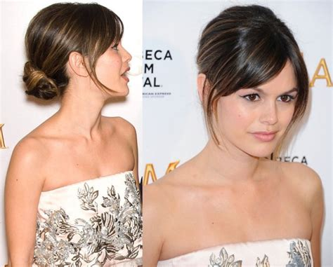 Hairstyle For Strapless Dress by Gorgeous Hairstyles For Strapless Dresses Best Medium