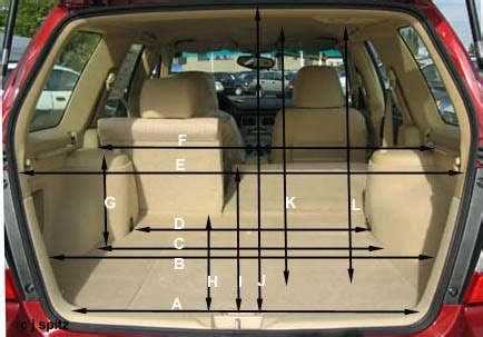 Subaru Forester Cargo Space Dimensions by 2006 Subaru Forester Prices Options Colors Specs