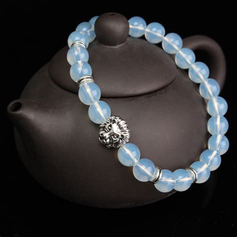 elastic for jewelry opal silver elastic bracelet jewelry at banggood