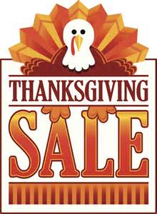 sale on thanksgiving thanksgiving sale on monday