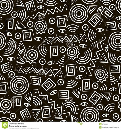 abstract tribal pattern tribal art seamless pattern with abstract figures royalty