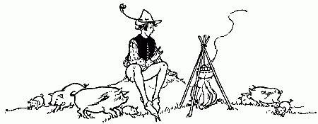 Seri Hans Christian Andersen Sang Penggembala dongeng hans christian andersen penggembala babi