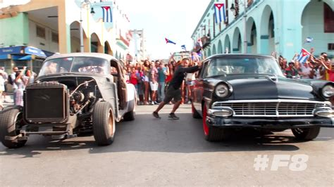fast and furious 8 making fast and furious 8 revels in cuba s vibrant car culture