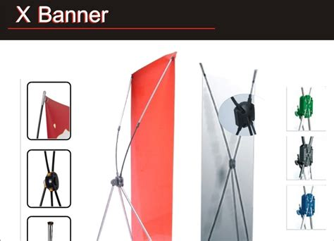 Paket Cetak Roll Banner Penyangga Tiang Cetak Bahan Albatros paket media promosi x banner solution advertising