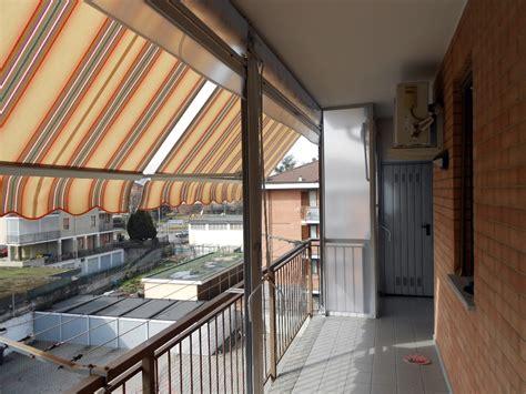 tenda sole balcone foto chiusura completa balcone con tenda veranda doppio