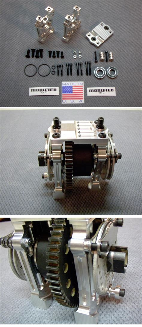 Modified Rc Center Diff Mount Set For Losi 5ive by Modified Rc Center Diff Mount Set For Losi 5ive T