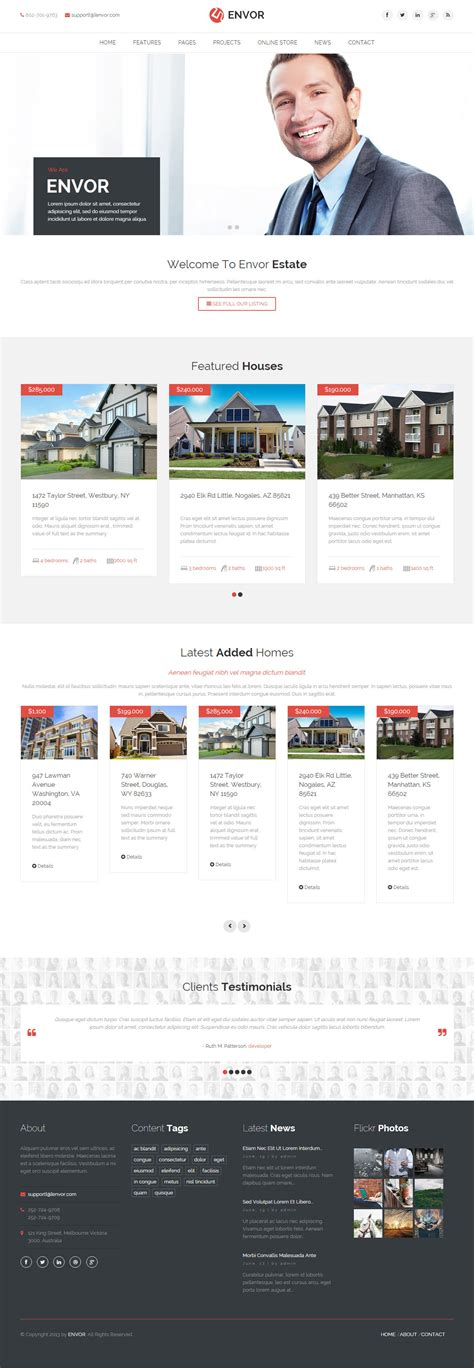 drupal themes real estate best responsive real estate drupal themes in 2015