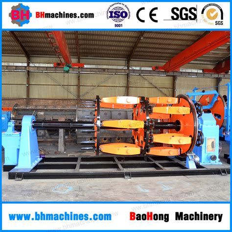 planetary type electric wire cable machine with