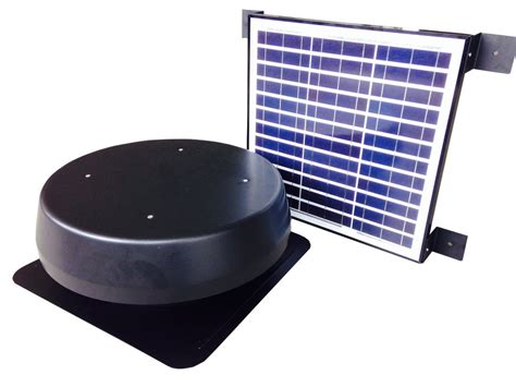 industrial exhaust fan wattage solar atttic fan solar roof ventilator solar powered panel