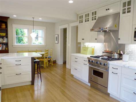 Kitchen Under Cabinet Light craftsman open kitchen makeover catherine nakahara hgtv