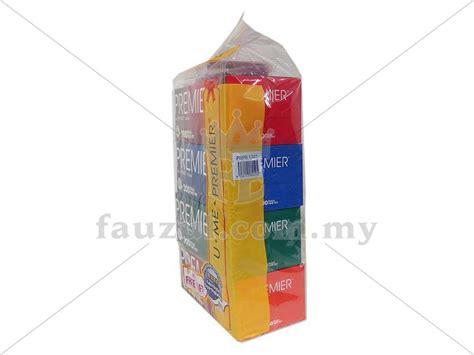 premier tissue box 200s x 4 fauzul enterprise