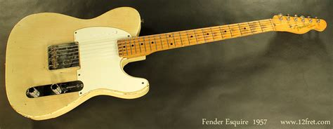 fender esquire 1957 www 12fret