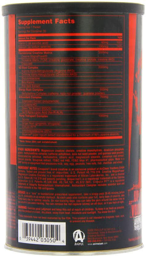 creatine nitric oxide universal nutrition animal pre workout nitric oxide