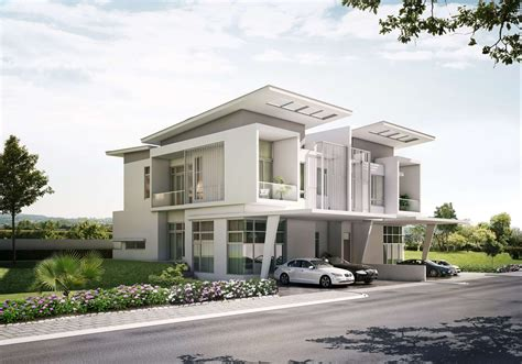 house architecture style exterior home designs with special facade appearance