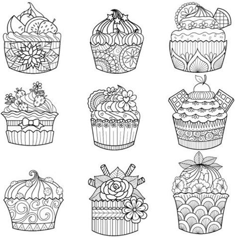 coloring pages for adults cupcakes best s day coloring books for adults